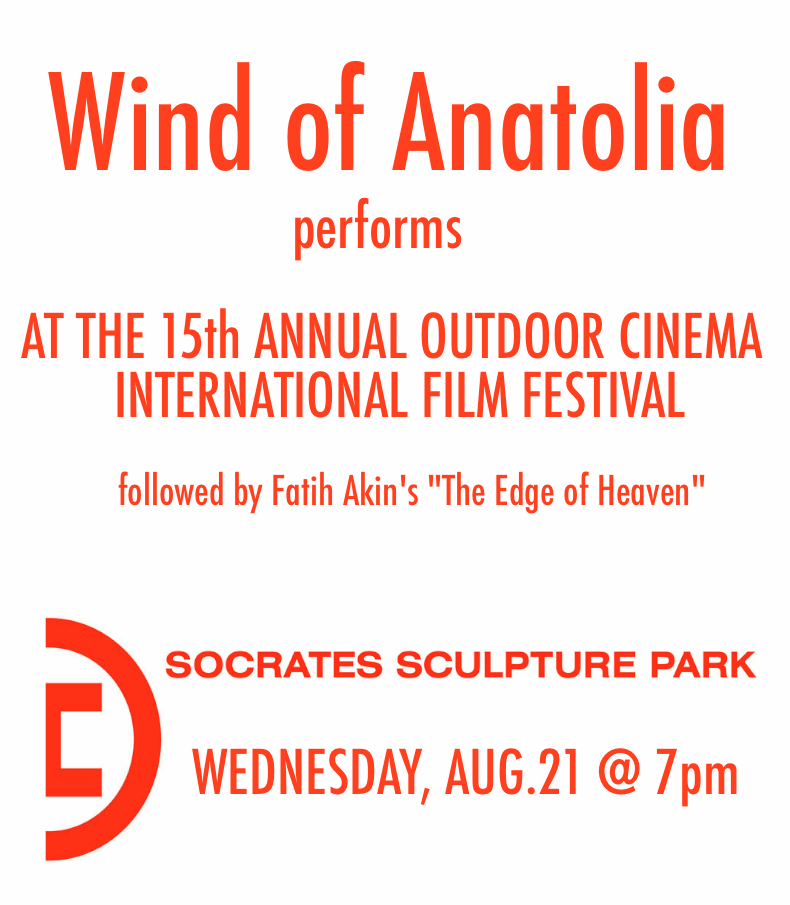 Wind of Anatolia @ Socrates Sculpture Park