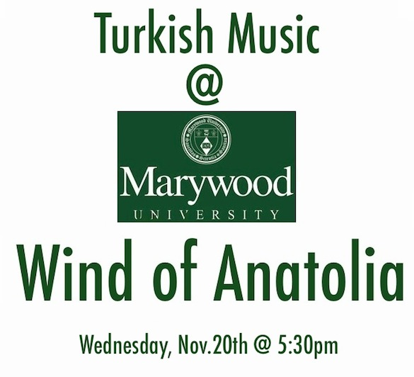 Wind of Anatolia @ Marywood